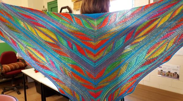 Linda's shawl 2 20180921_105454