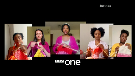 How knitting became the new normal between shows on the BBC
